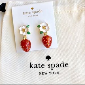 Kate Spade New Perfect Picnic Strawberry Earrings